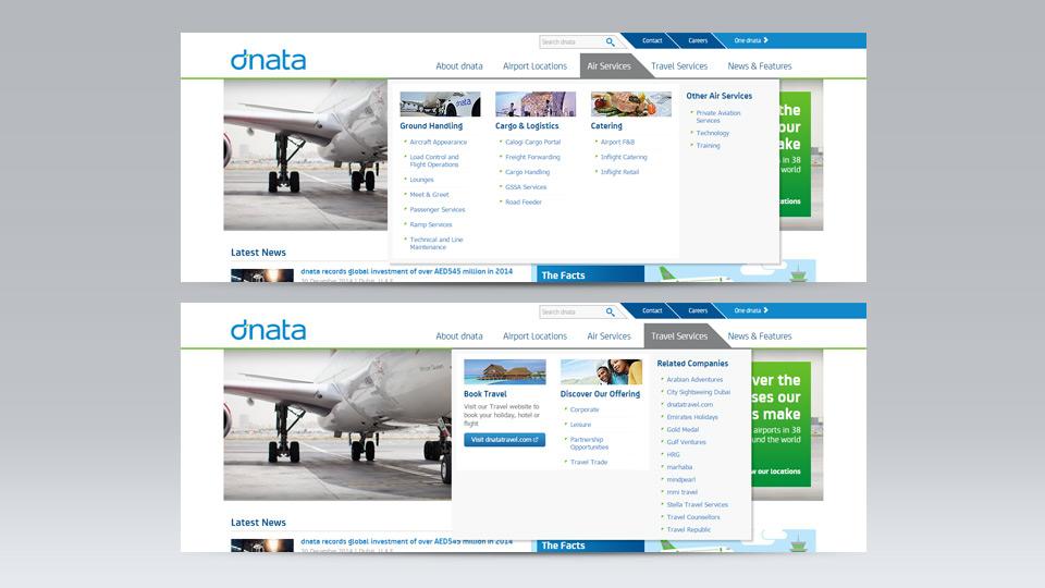 dnata website