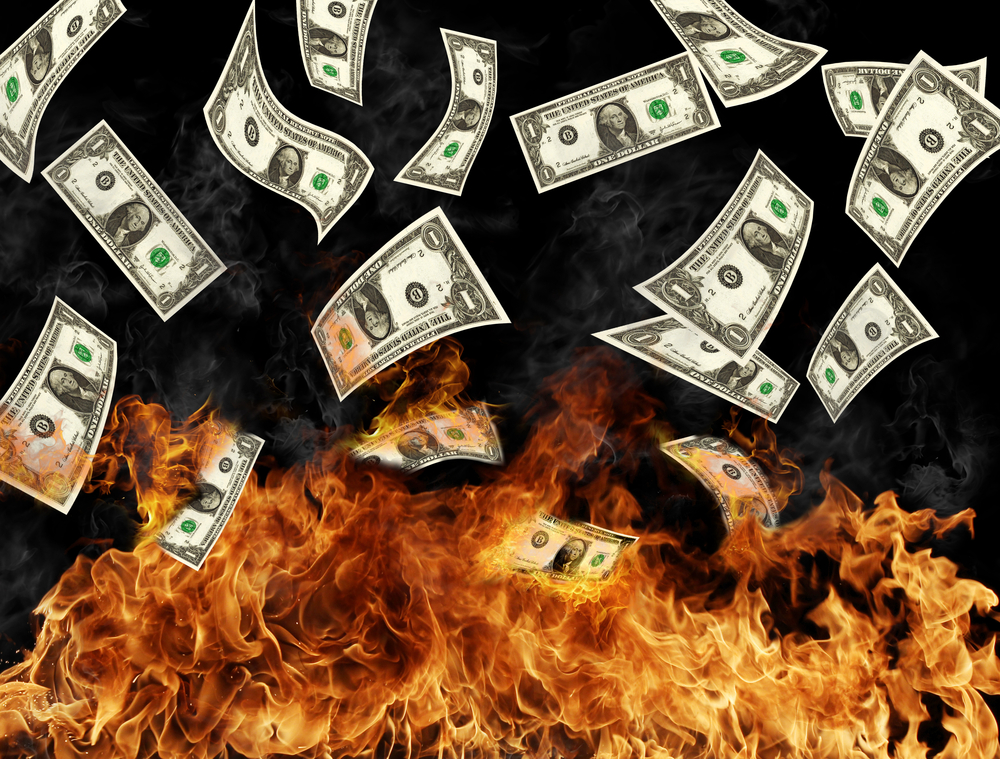 discounting is burning money