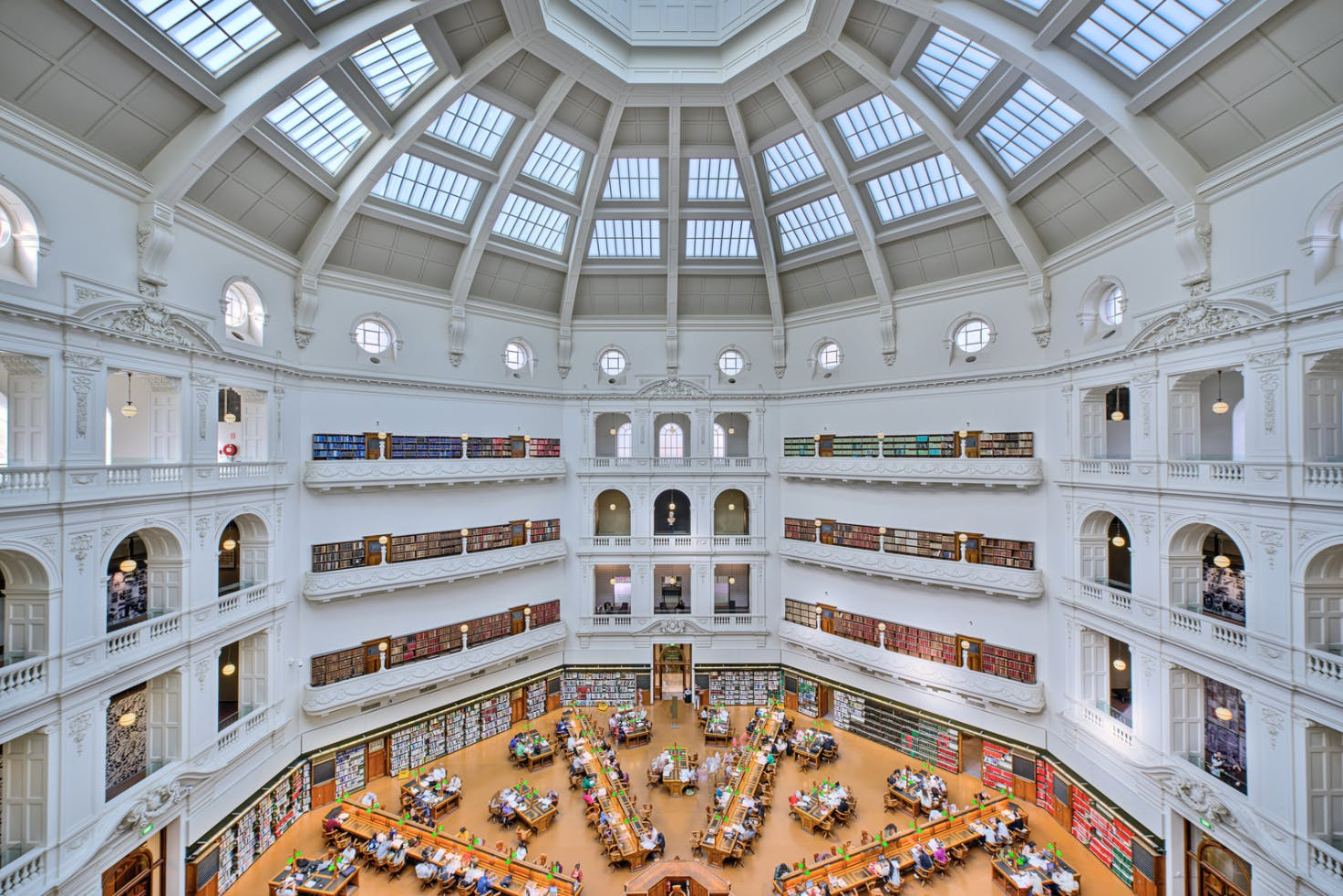 A Reading Room of the future